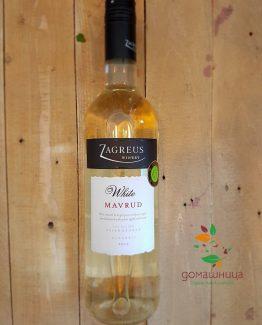 Бял Мавруд органично вино 2015 г. 0,75 л. Загрей