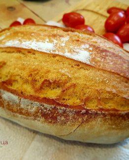 Селски бял хляб с квас и зехтин