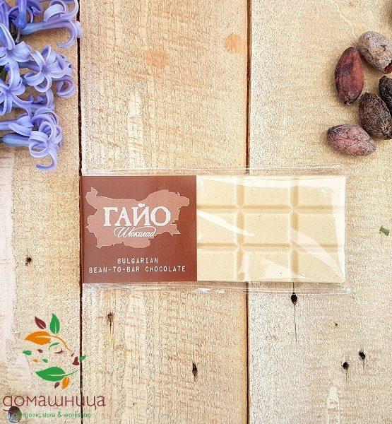 Блокче бял шоколад Гайо
