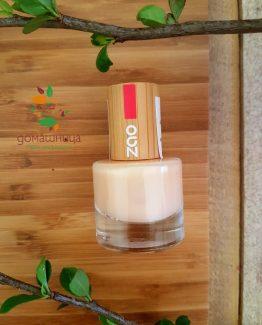 Zao organic заздравител за нокти и основа 635
