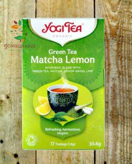 Зелен чай матча Yogi Tea