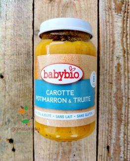 Зеленчуково пюре с пъстърва BabyBio