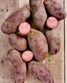 Червени картофи