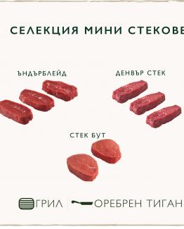 Mini steaks