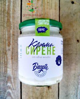 Крема сирене от овче мляко ферма Багри