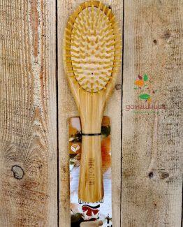 Дървена четка за коса Magnum Natural