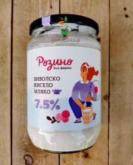 Биволско кисело мляко Био ферма Розино