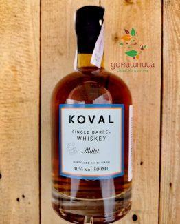 Био Уиски от просо Koval