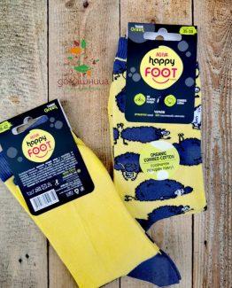Чорапи органичен памук Овчици Happy Foottopia