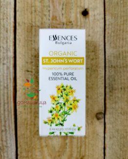 Жълт кантарион 100% чисто етерично масло био 10мл Essences Bulgaria