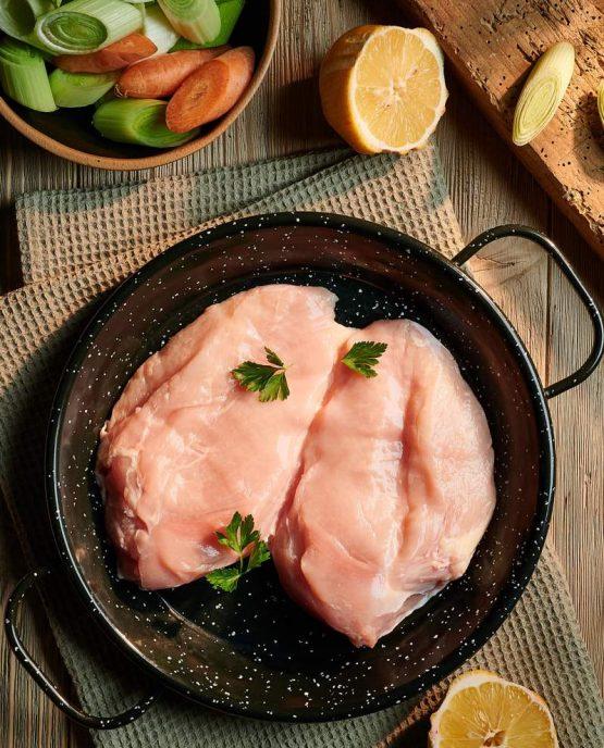 Пилешки гърди от пасищно отгледано пиле около 500гр Sunny farm-