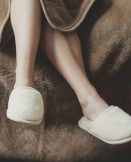 Домашни чехли от Мерино вълна Камел Беж 1бр Primo Home